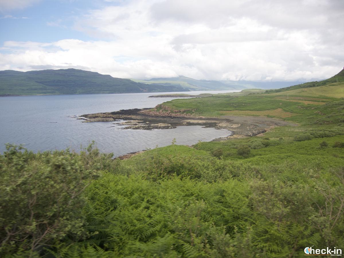 Tour delle isole Ebridi interne: panorama di Mull dall'autobus