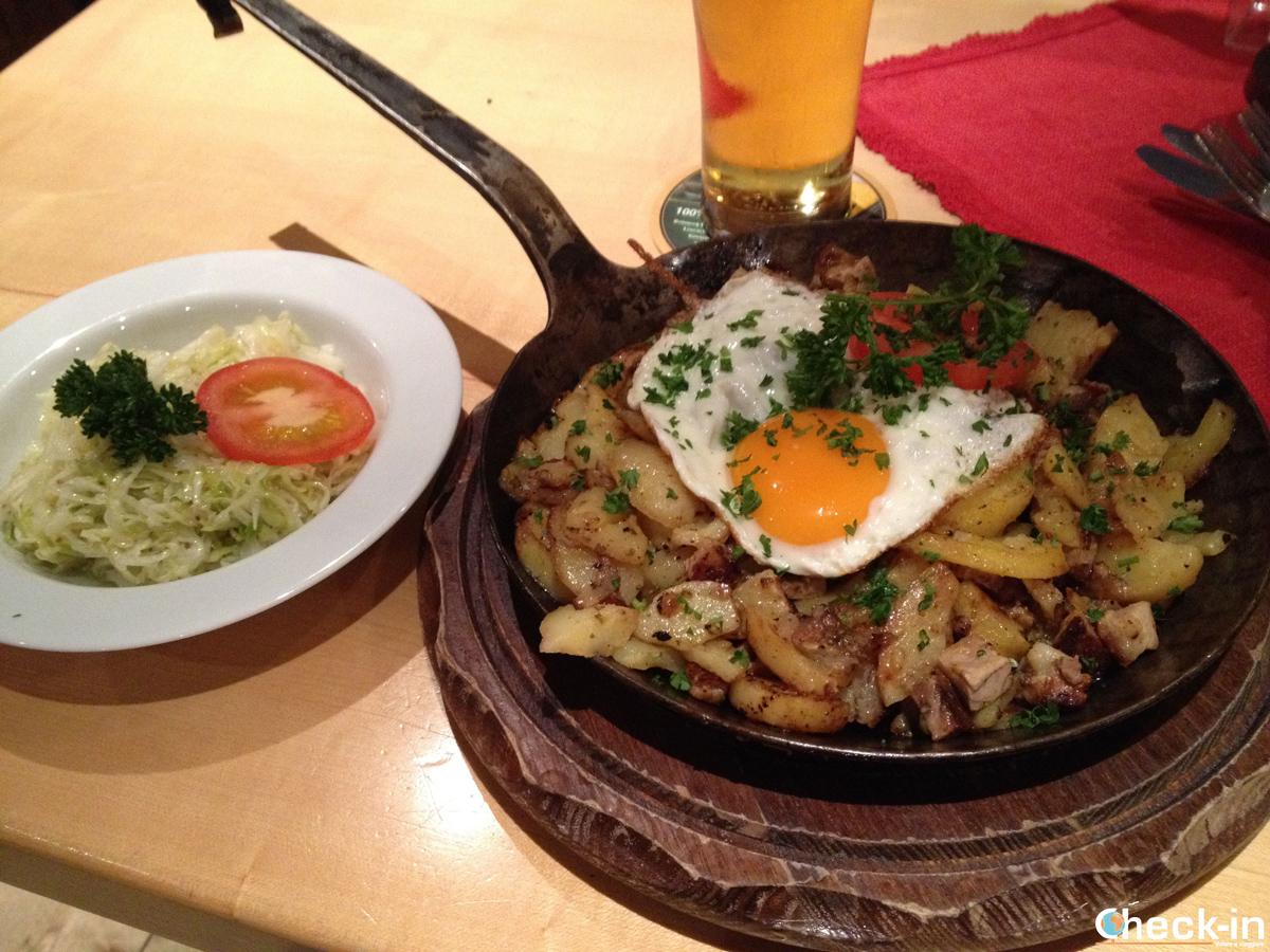 Cosa mangiare in Austria: il Tiroler Gröstl