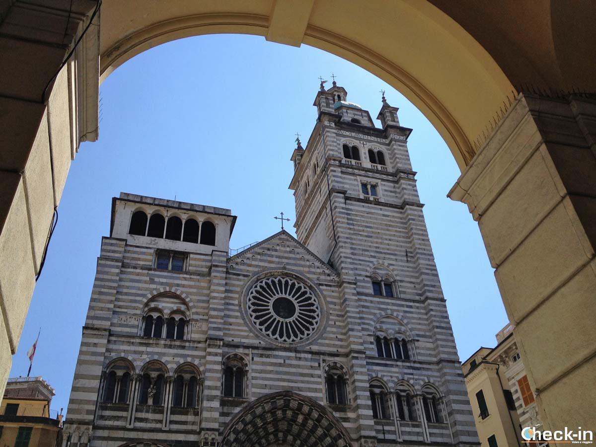 Cosa vedere nel centro storico di Genova: la Cattedrale di San Lorenzo