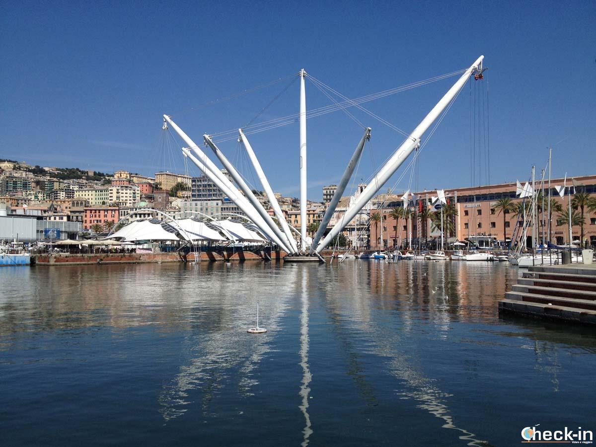 Cosa vedere nel centro storico di Genova: il Porto Antico ed il Bigo