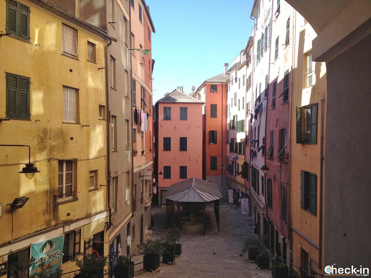 Cosa vedere nel centro storico di Genova: i Truogoli di Santa Brigida
