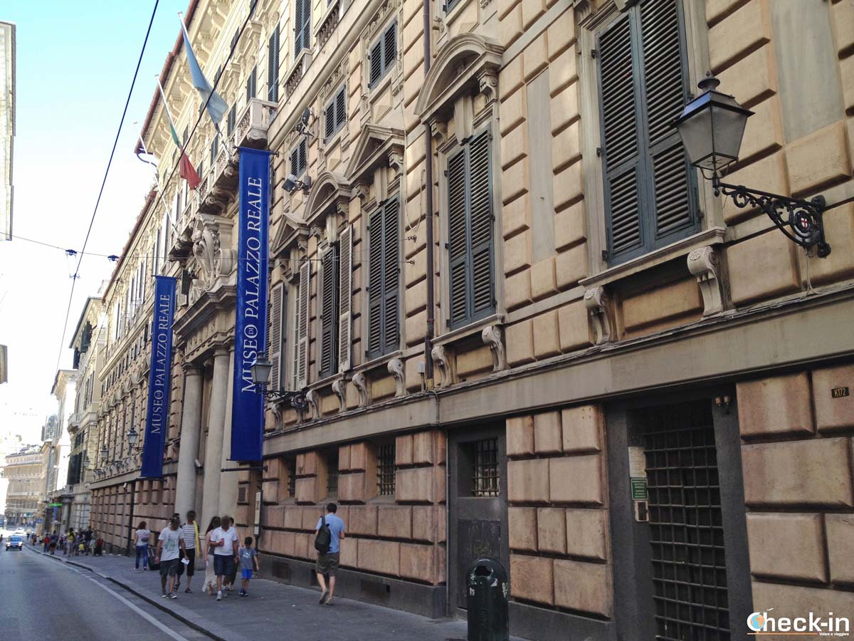 Cosa vedere nel centro storico di Genova: Palazzo Reale in via Balbi