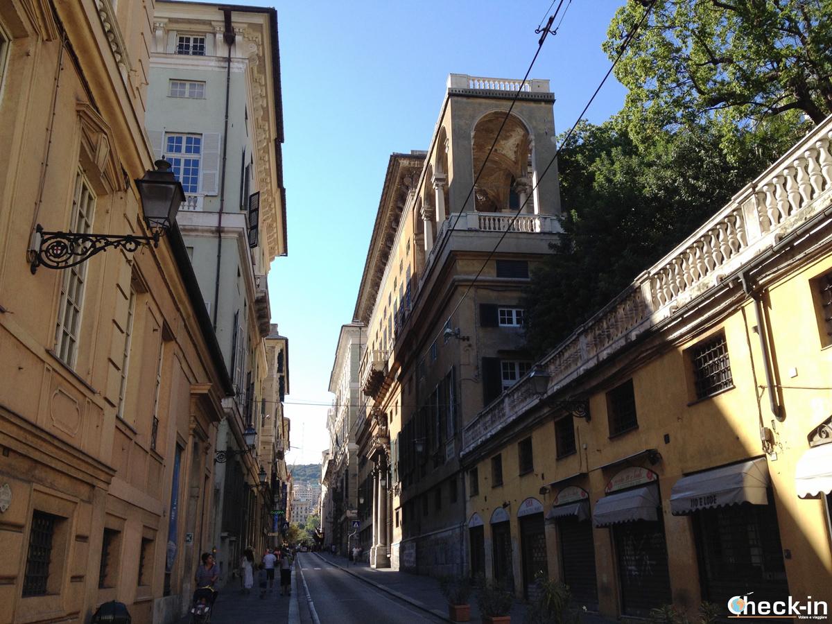 Cosa vedere nel centro storico di Genova: via Balbi