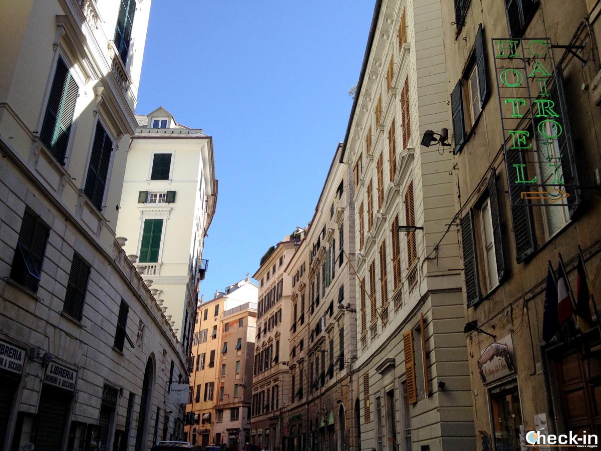 Cosa vedere nel centro storico di Genova: via Cairoli