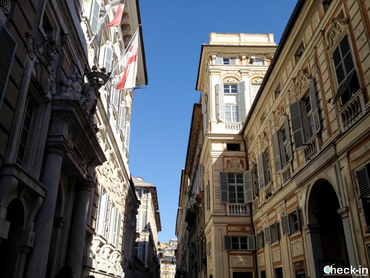 Cosa vedere nel centro storico di Genova: i Palazzi dei Rolli di via Garibaldi