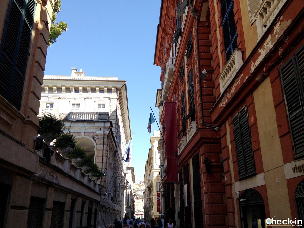 Cosa vedere nel centro storico di Genova: via Garibaldi