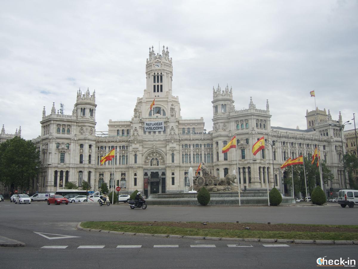 Que ver en Madrid: Plaza de Cibeles y Palacio de Comunicaciones