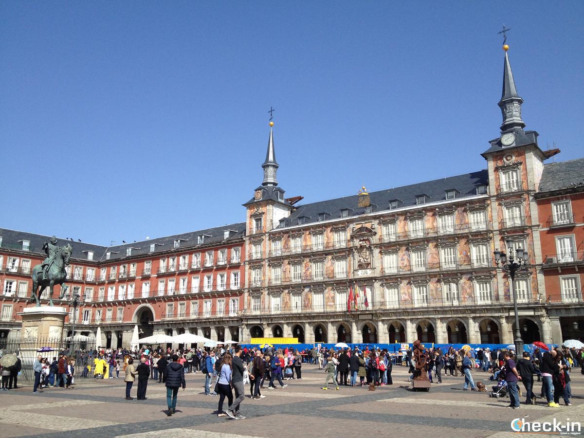 Que ver en Madrid: Plaza Mayor