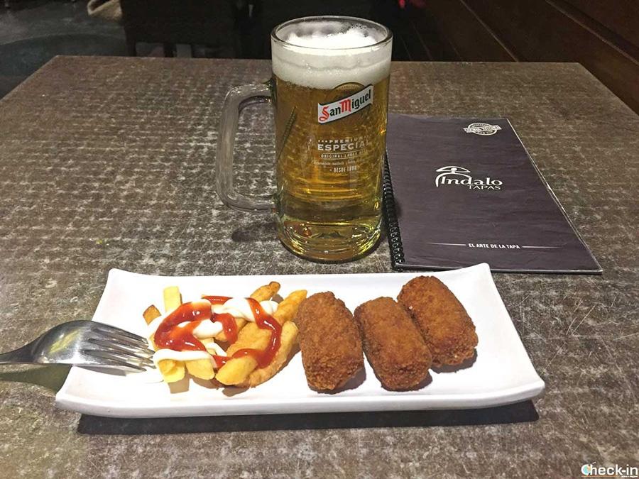 "Sitios para comer en pleno centro Madrid: ""Indalo Tapas"""