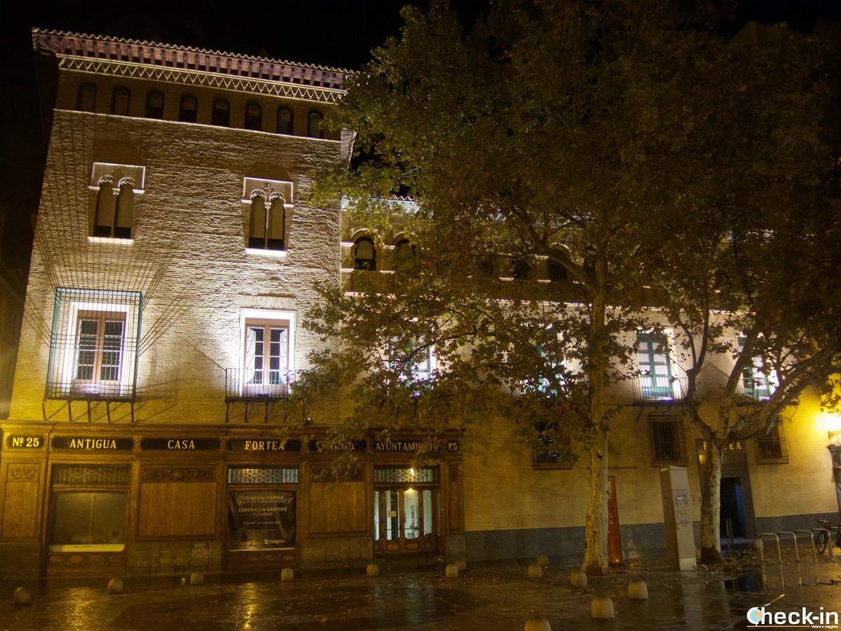 Qué ver en Zaragoza en 2 días: el Torreón Fortea