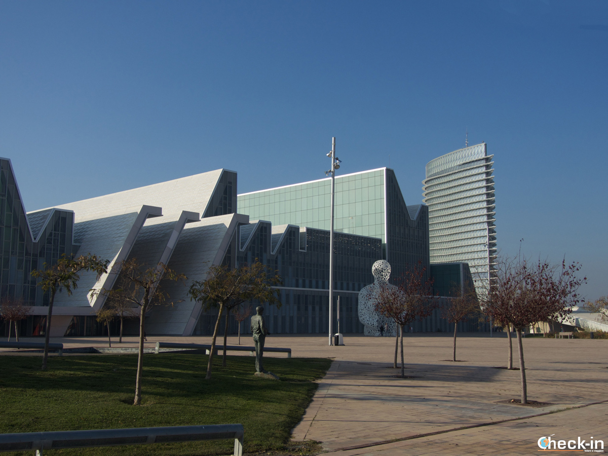 Que ver en Zaragoza: el Palacio de Congresos en la Zona Expo 2008