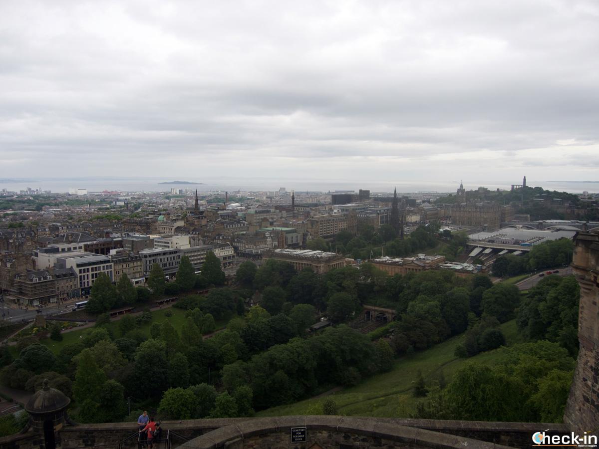 Vacanza in Scozia: visita del Castello di Edimburgo