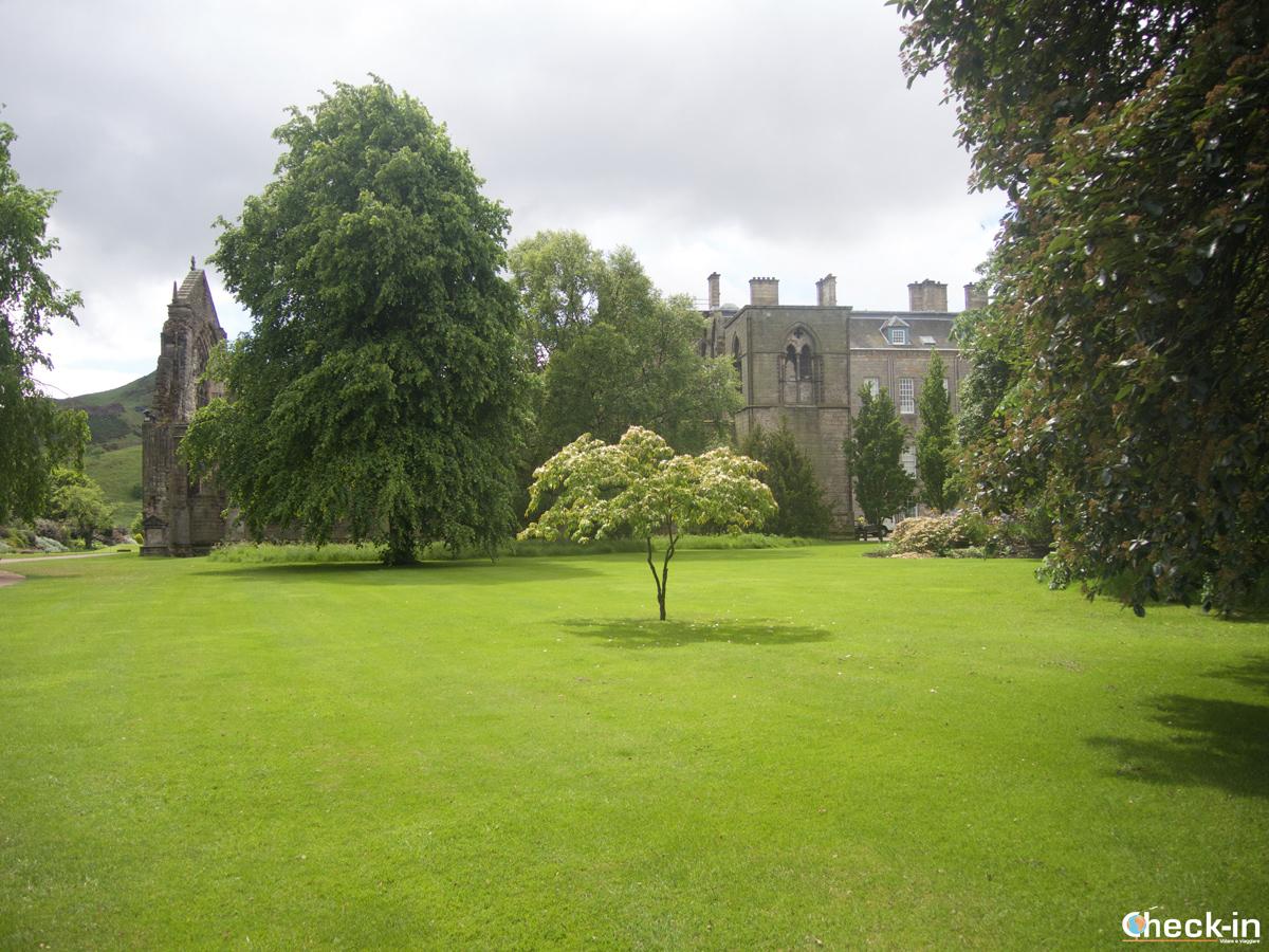 Vacanza in Scozia: Holyrood Palace ad Edimburgo