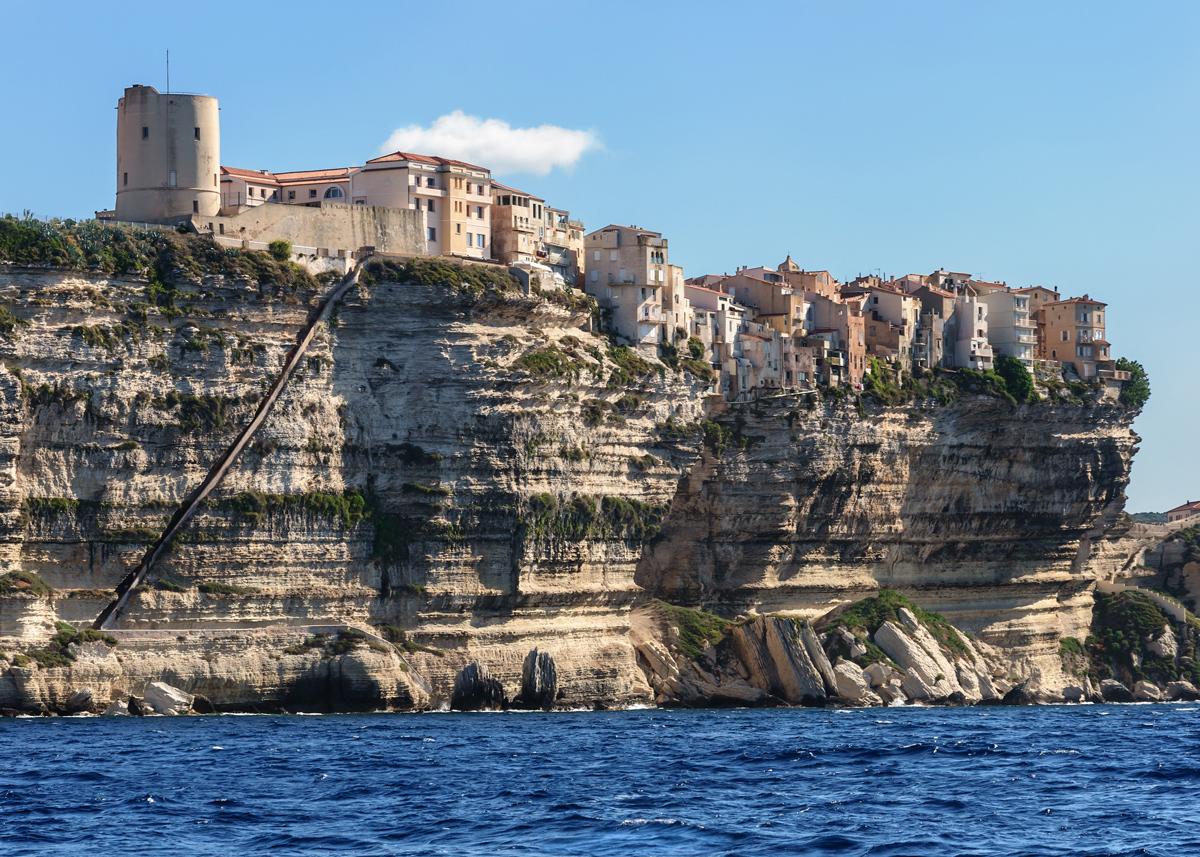 Vacanza in Corsica: la falesia di Bonifacio
