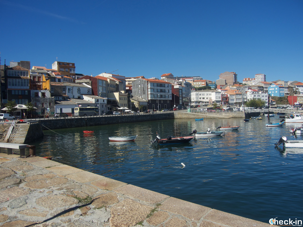 Il lungomare di Finisterre, Costa da Morte, Galizia