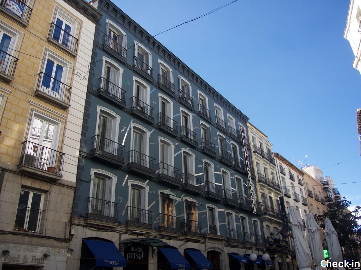 Hoteles en centro Madrid: el Hostal Persal