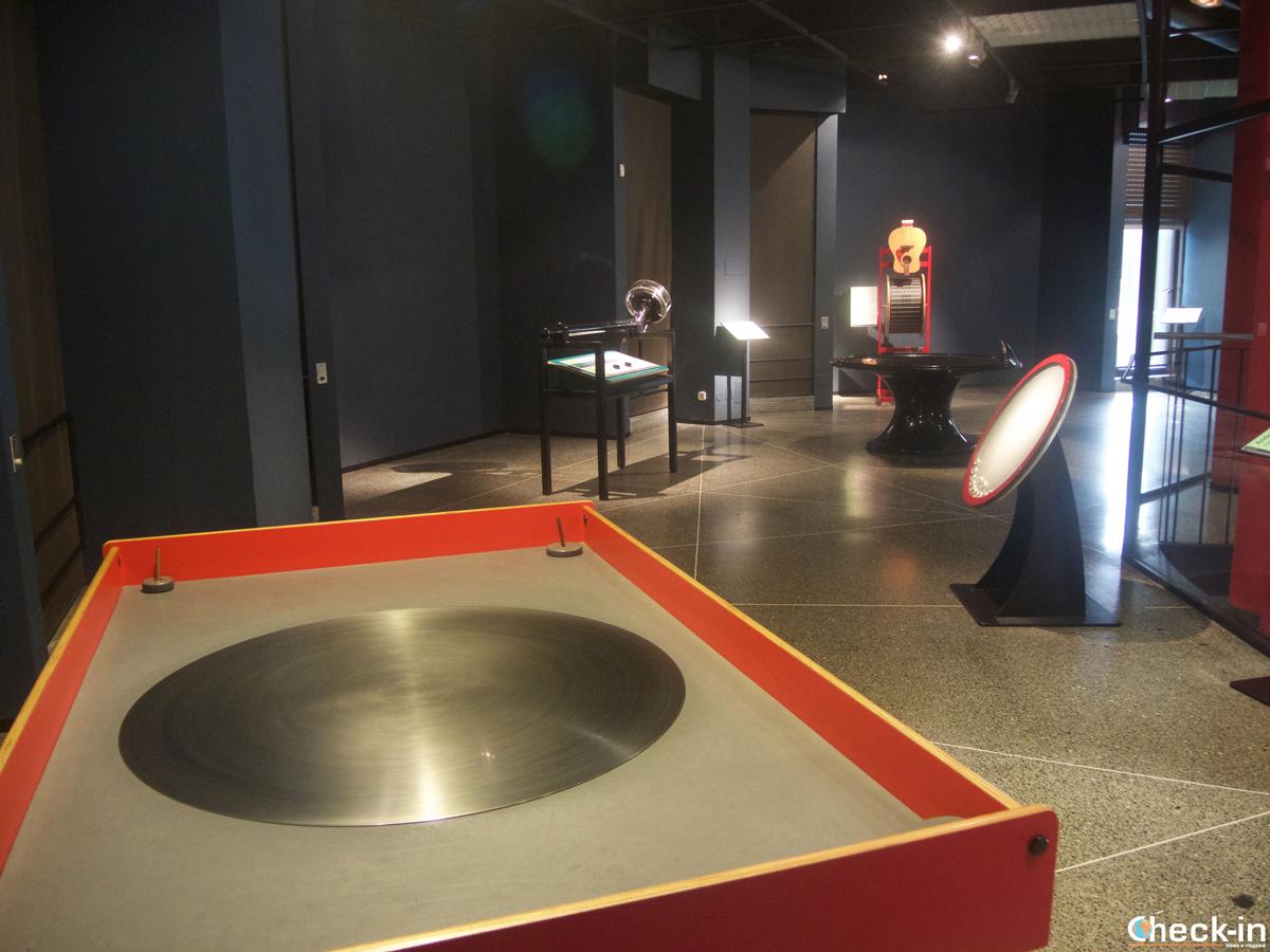 Alcune delle installazioni nella Casa de las Ciencias di La Coruña