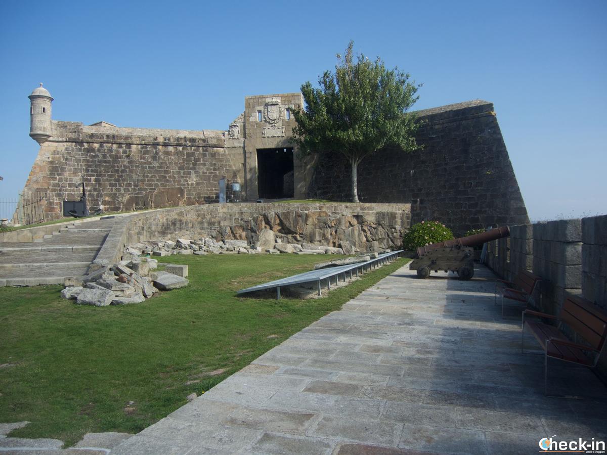 Il Castillo de San Antón di La Coruña