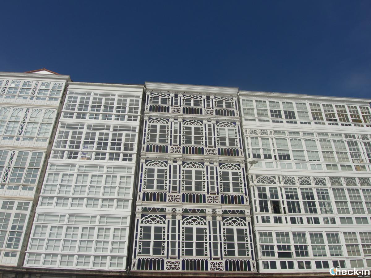 Cosa vedere a La Coruña: le Galerías