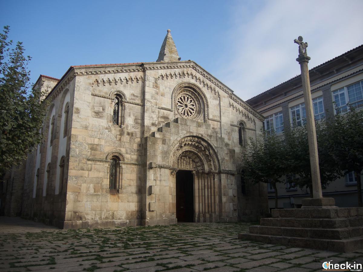 Que ver en La Coruña en dos días: la Colegiata de S. María do Campo en la Ciudad Vieja