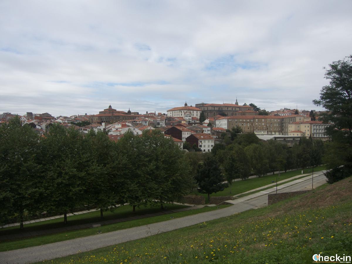 Que ver en Santiago de Compostela en tres días: el parque del Belvís