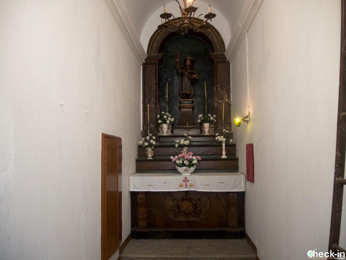 Cosa vedere nel centro storico di Santiago di Compostela: la Cappella di San Giacomo in Rúa do Fonseca
