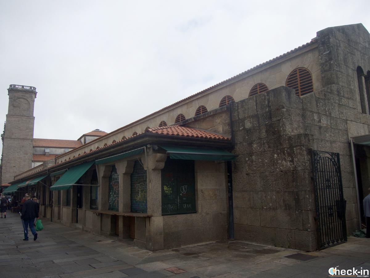 Cosa vedere nel centro storico di Santiago di Compostela: il Mercato di Abastos