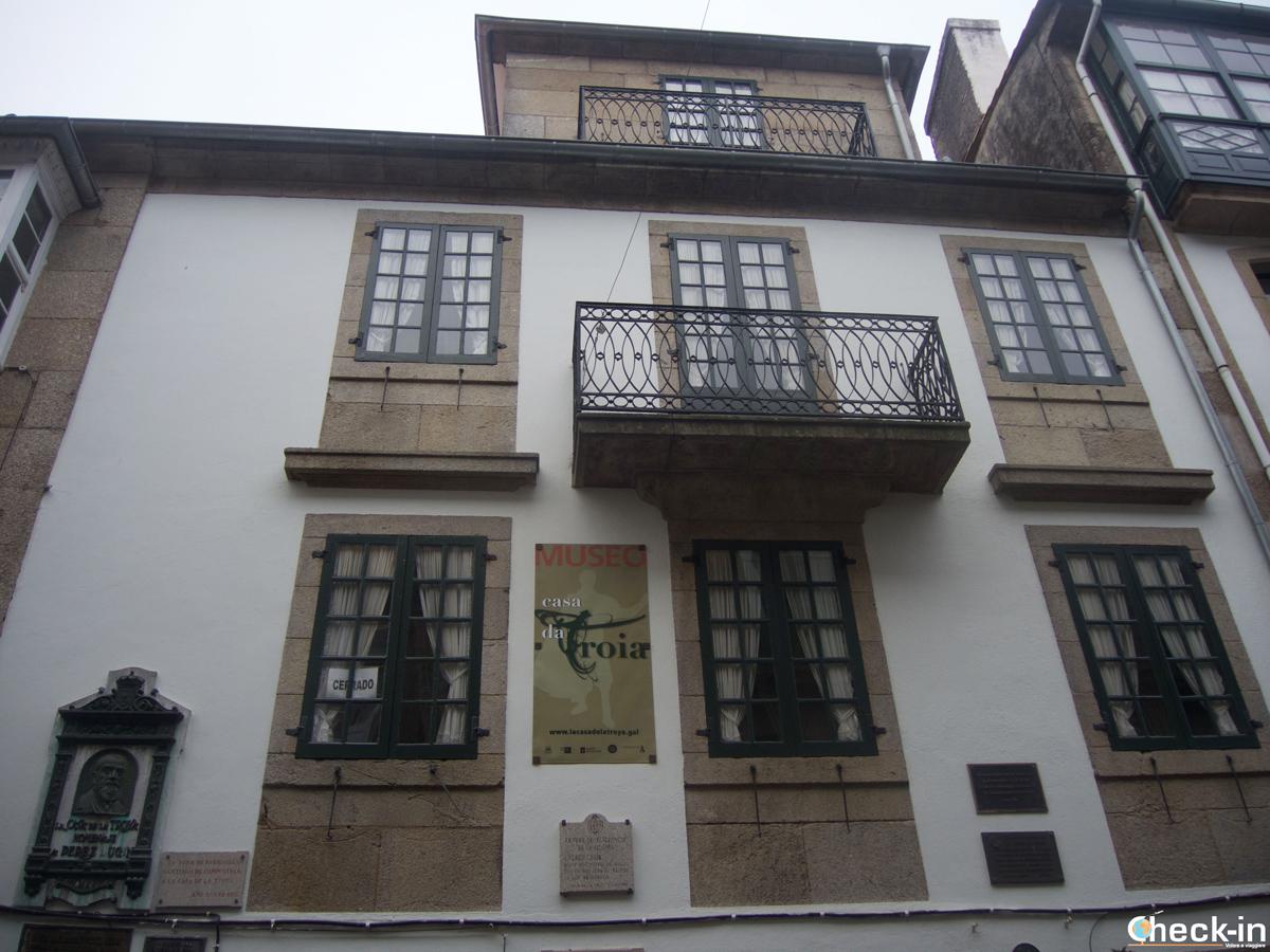 Cosa vedere nel centro storico di Santiago di Compostela: il Museo Troia