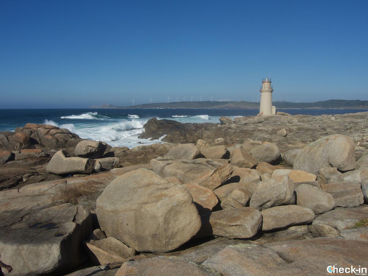 Il faro abbandonato di Muxía, Costa da Morte (Galizia)