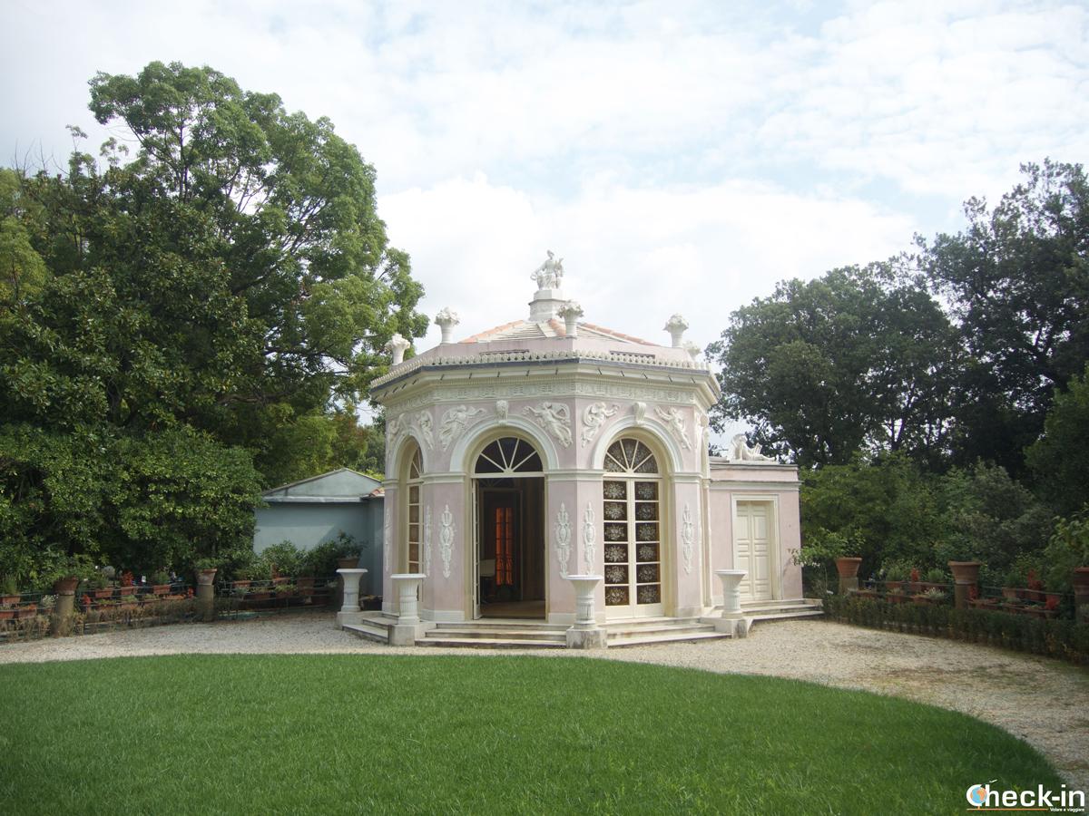 Visita di Villa Durazzo Pallavicini: i giardini di Flora