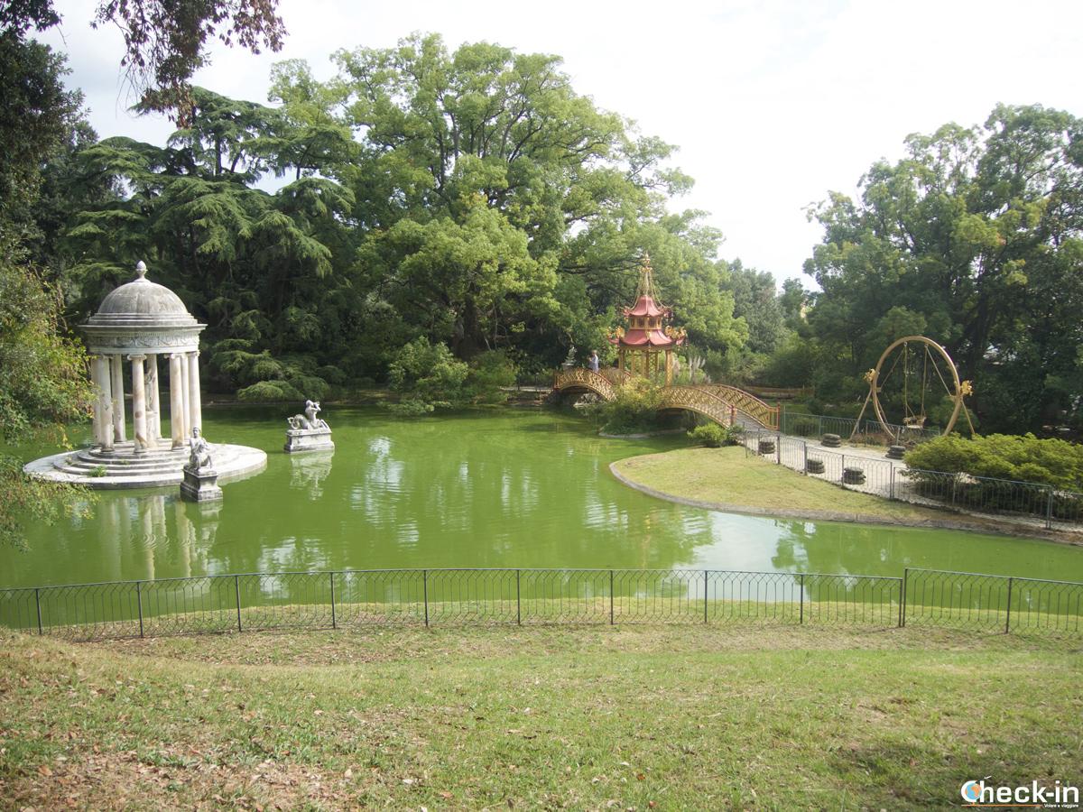 Visita di Villa Durazzo Pallavicini: il Lago Grande