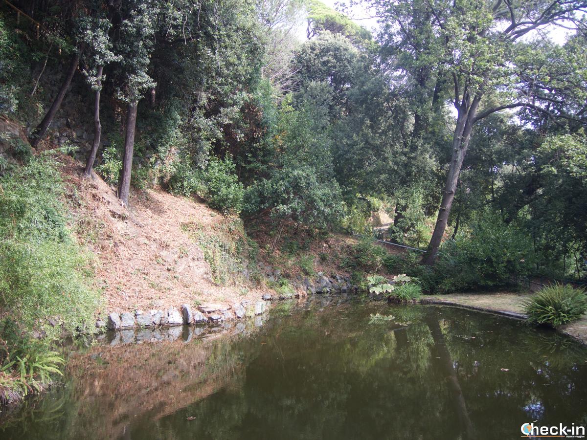 Visita di Villa Durazzo Pallavicini: il Lago vecchio