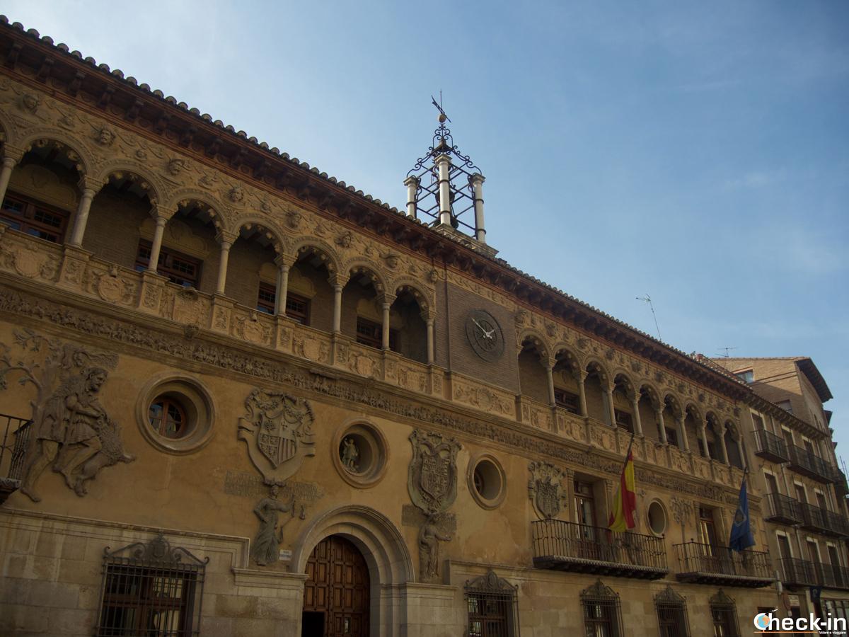 Cosa vedere a Tarazona: l'Ayuntamiento in Plaza España