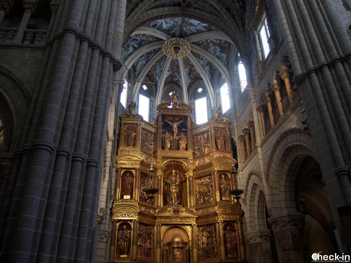 Scorcio del Retablo mayor della Cattedrale di Tarazona