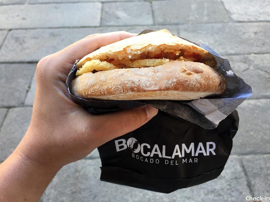 Sitios para comer en centro de Santiago de Compostela (España): Bocalamar