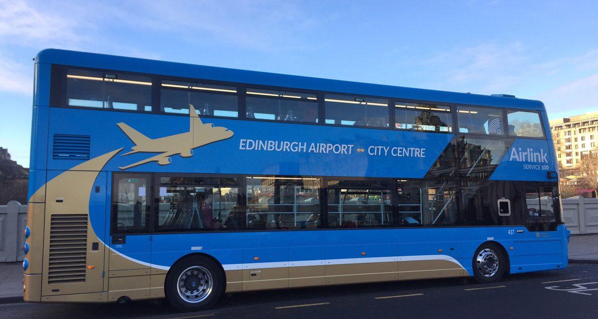 Edinburgh airport how to reach the city centre by airlink 100 bus edinburgh airport how to easily reach the city centre by airlink 100 bus transfer m4hsunfo