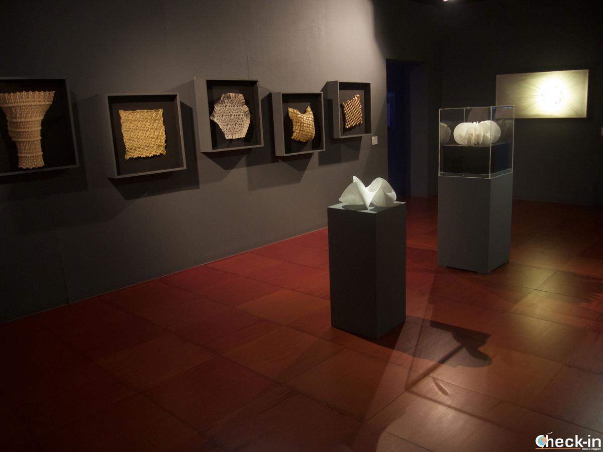 Muestra temporánea en el museo de papiroflexia Emoz en Zaragoza