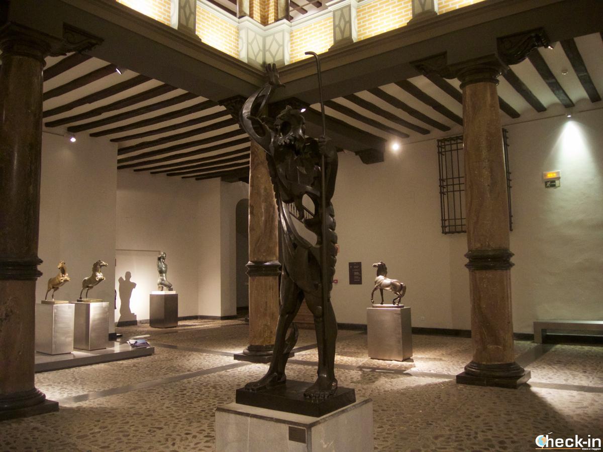 """""""El Profeta"""", la obra más emblemática de Pablo Gargallo que se puede ver en su Museo en Zaragoza"""