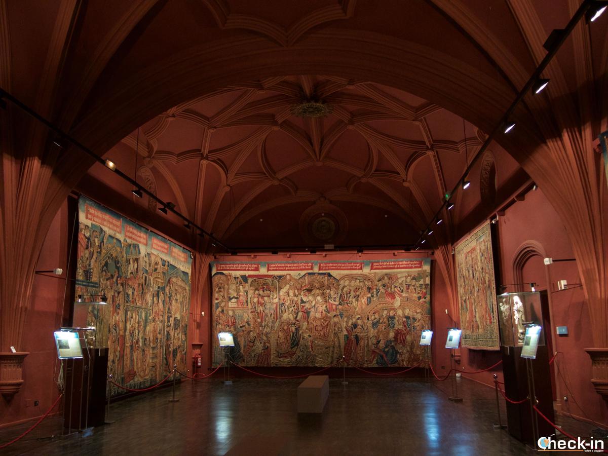 El Museo de Tapices en la Seo de Zaragoza
