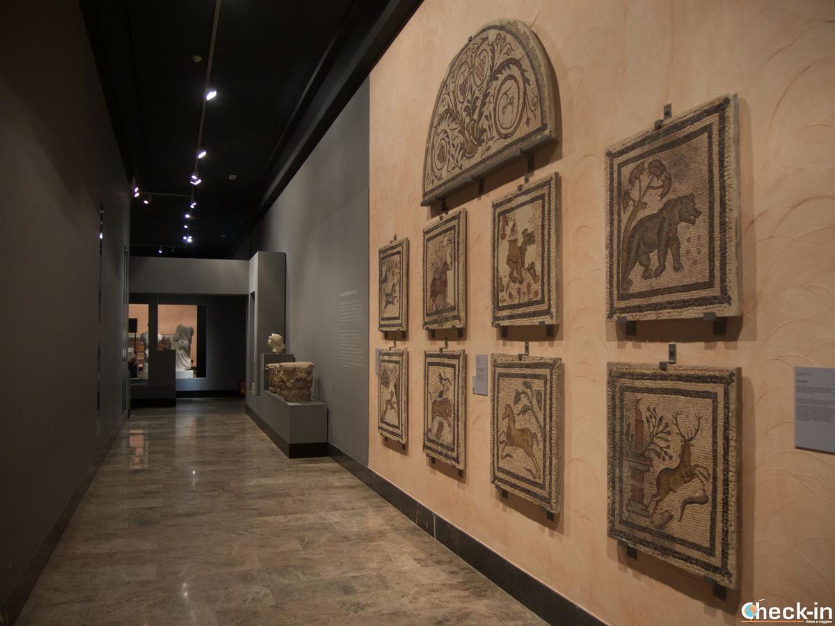 La sección romana en el Museo de Zaragoza