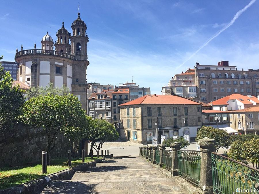 Excursión de Santiago a Pontevedra y Rías Baixas con paseo en barco - Galicia, España del norte