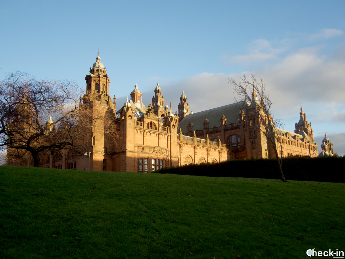 The Kelvingrove Art Gallery and Museum in Glasgow West End