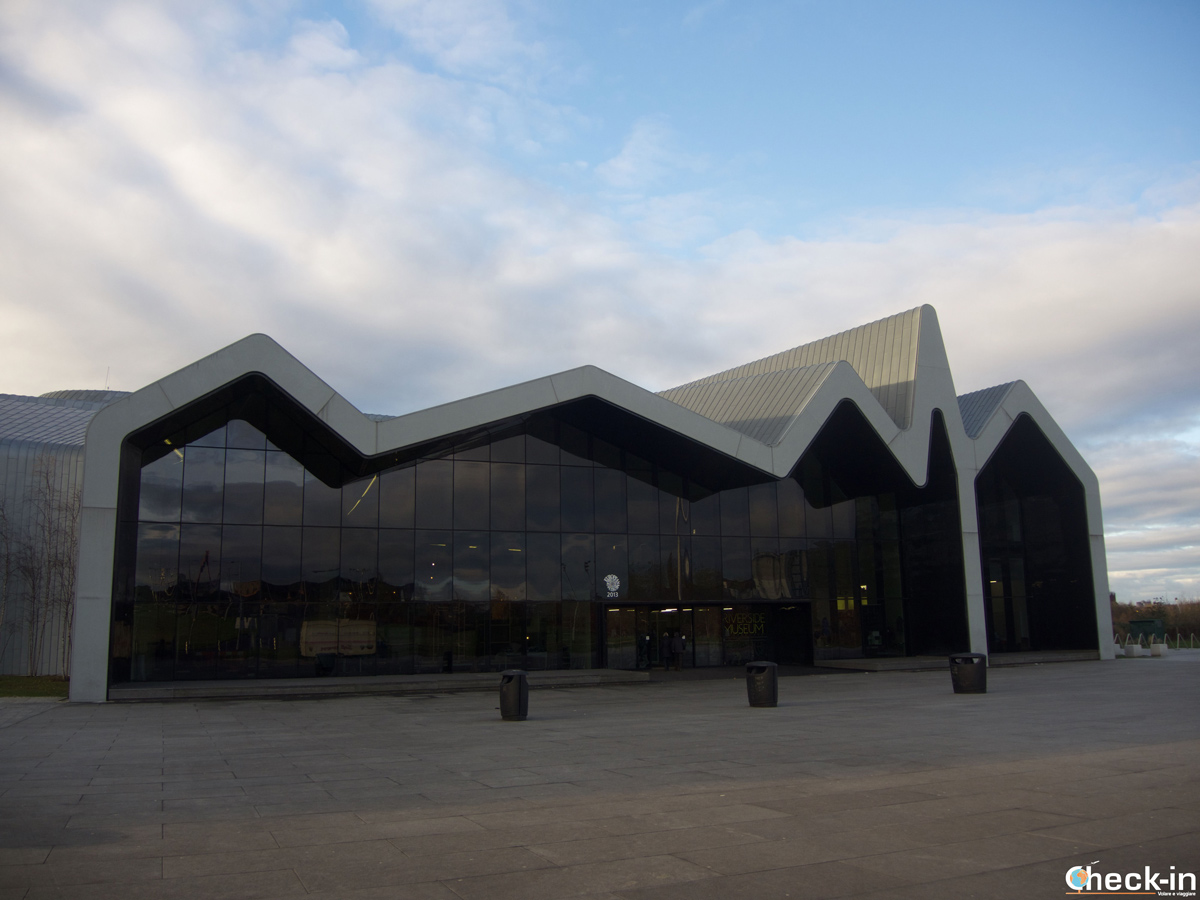 Visit of the Riverside Museum in Glasgow West End