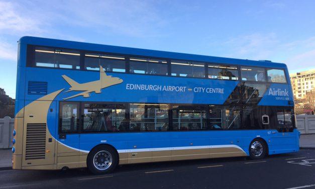 Aeroporto di Edimburgo: come arrivare in centro città con l'Airlink 100 ed acquisto online dei biglietti