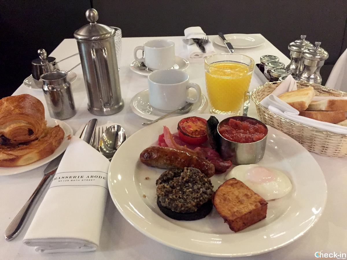 ABode Glasgow Hotel - Colazione con Haggis