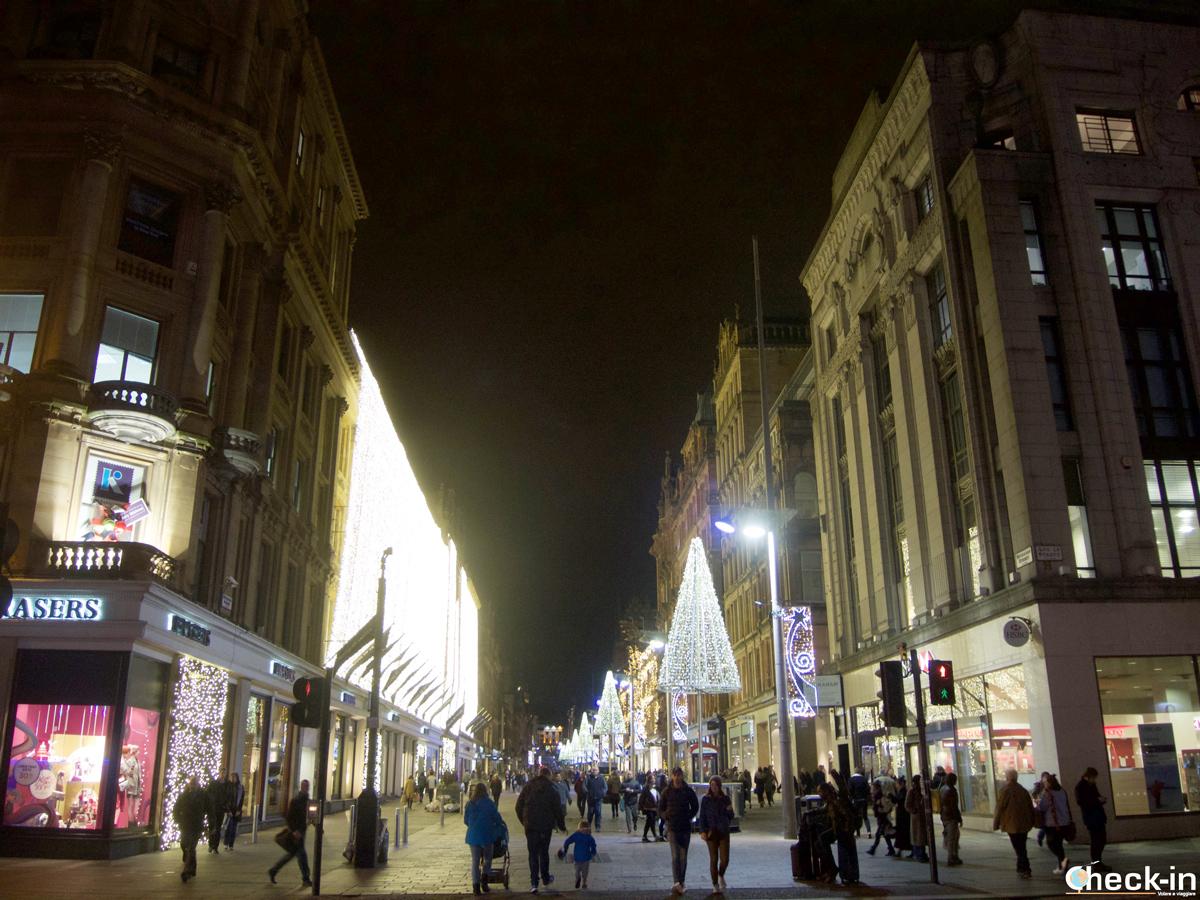 Cosa fare a Glasgow in un giorno: shopping nei negozi di Buchanan Street