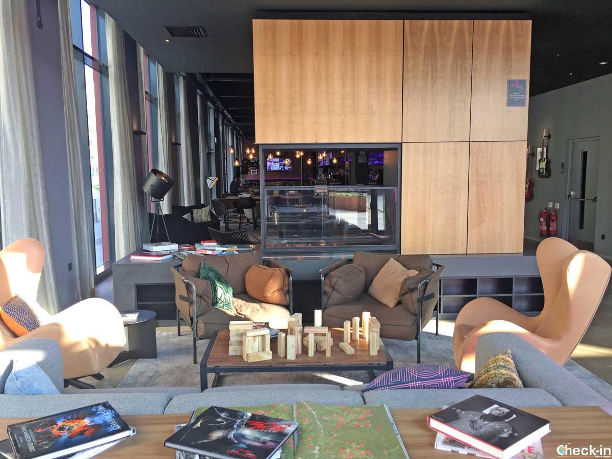 Aree comuni del Moxy Glasgow Merchant City   Check-in Blog di Stefano Bagnasco