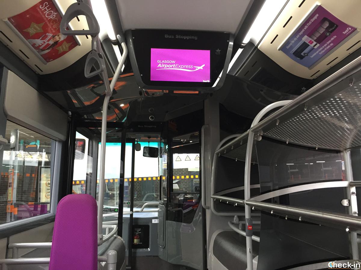 Come arrivare dall'aeroporto al centro con il Glasgow Airport Express