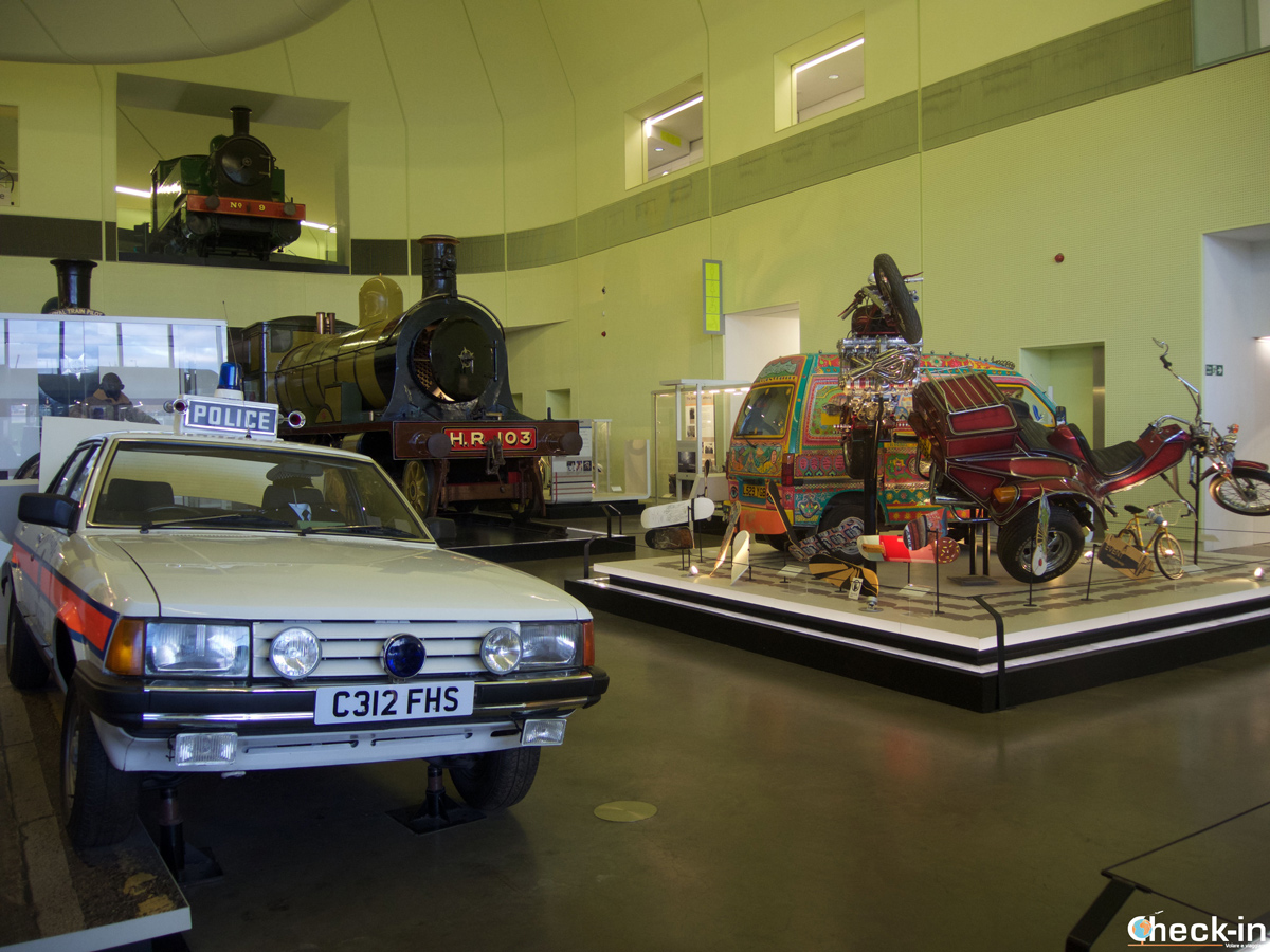 Visita del Riverside Museum, nel West End di Glasgow