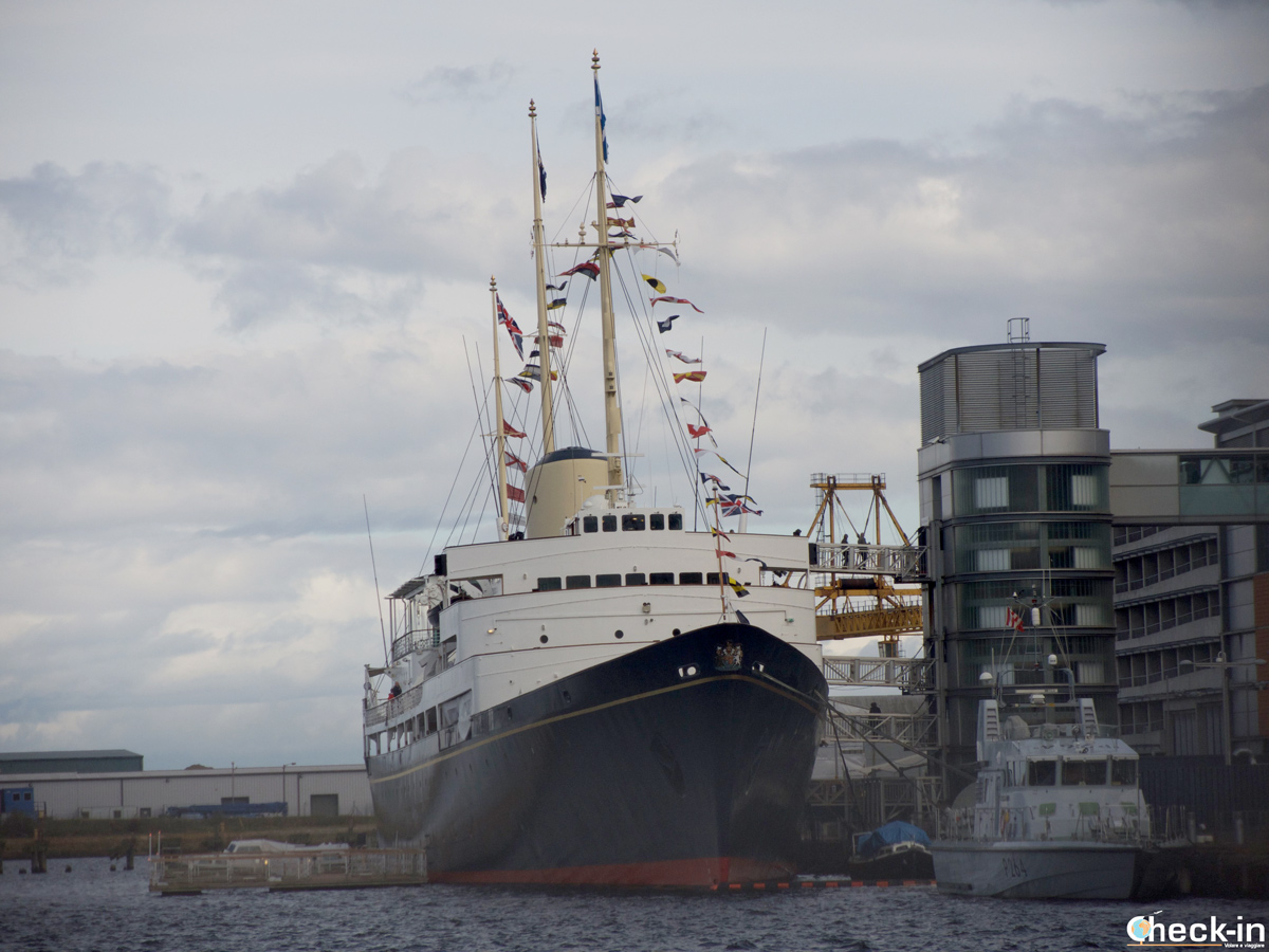 Visita del Royal Yacht Britannia ad Edimburgo